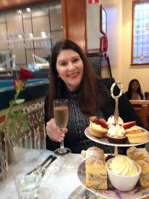 Room with Roses High Tea