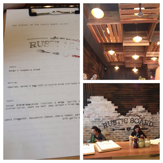 Rustic board Cafe, Korean food, North Sydney cafe, good coffee, cafés with outdoor seating, great decor