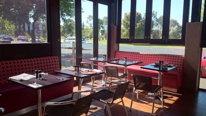 Rydges South Park Hotel Adelaide Accommodation The Deck Cafe