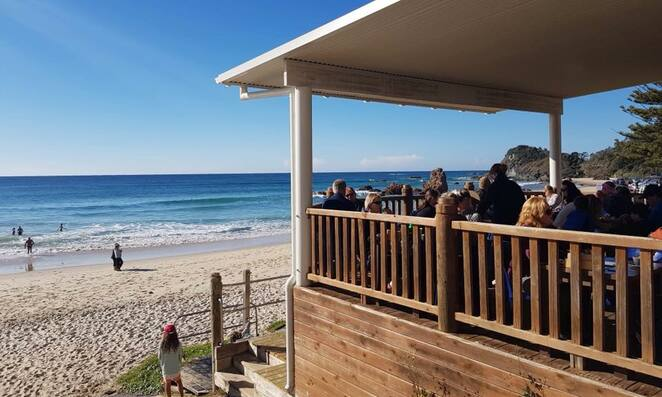 sand box, port macquarie, flynns beach, cafes with water views, best coffee, views, beaches, mid north coast, breakfast, NSW, flynns beach, attractions,