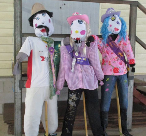 Scarecrow Competition, Beerwah Charity Sports & Spring Carnival - Image courtesy of the event organisers