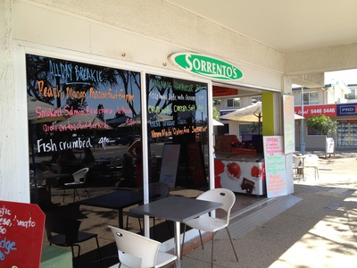 Sorrento's By The Beach was a simple yet fulfilling dining experience