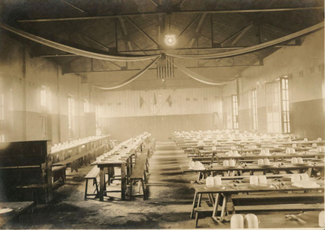 Stirling Mess Hall, the heart of Anzac Albany