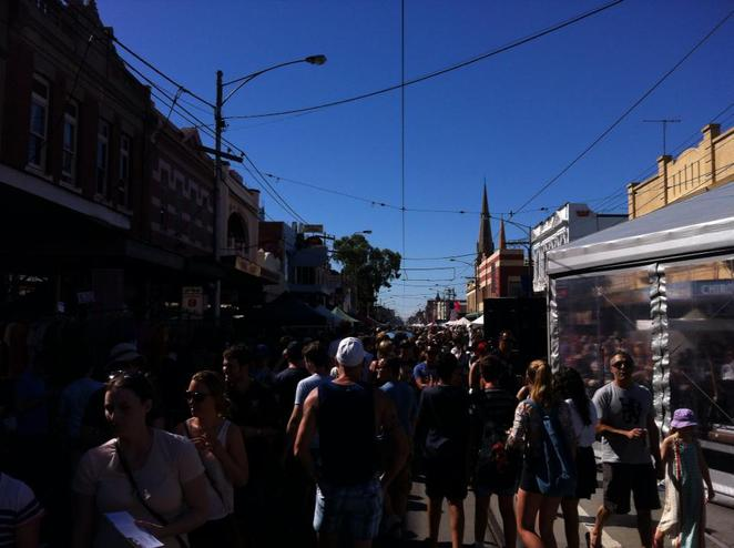 Sydney Road Festival in Brunswick
