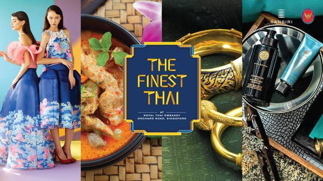 The finest Thai, April's Bakery, Jim Thompson, Sansiri, HARNN, Thai Embassy Singapore, Siam Commercial Bank