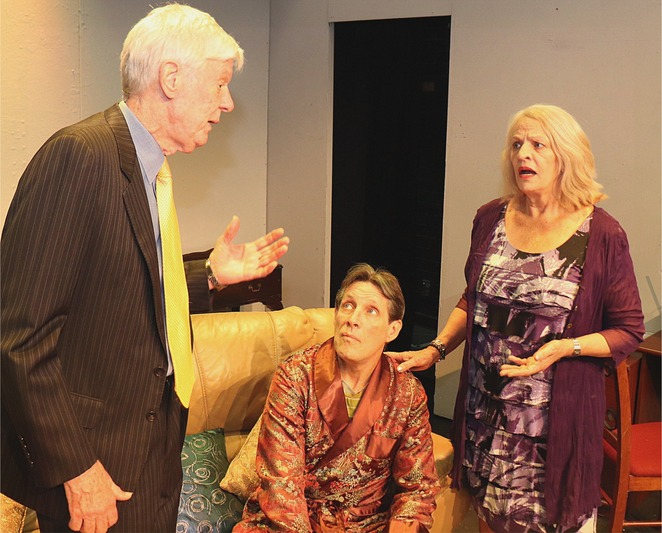 The Small Hours, Stirling Theatre, play, murder mystery, suspense, performing arts, stage