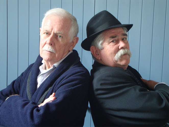 The Sunshine Boys, Neil Simon, Old Mill Theatre, play, comic, cranky, performing arts, Lalapalooza Productions, humour, stage
