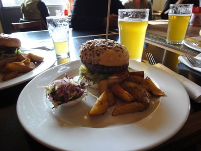 The Tramway Hotel Burgers