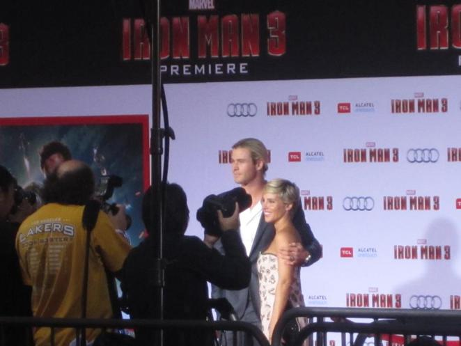 thor premier red carpet chris hemsworth