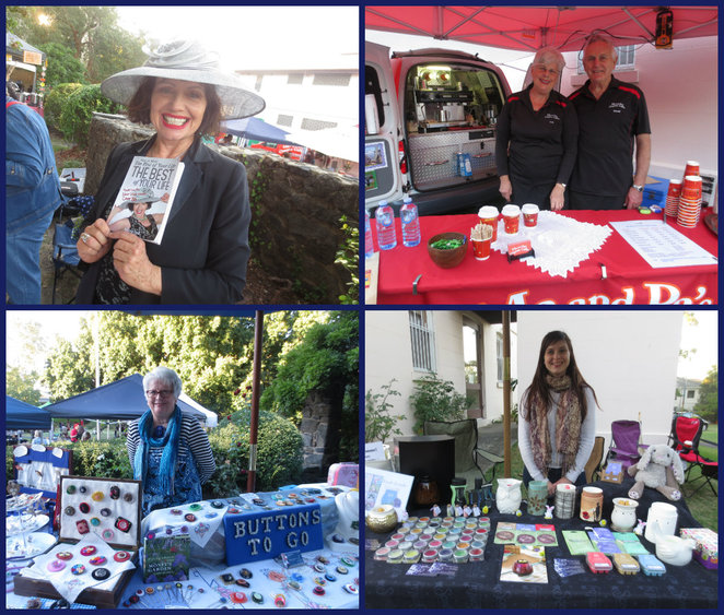 toorak french affaire, toorak, french cafe food, french music, art and craft stalls, save the children, country women's association, soiree, garden of umina, piazza style, helen paraskevas