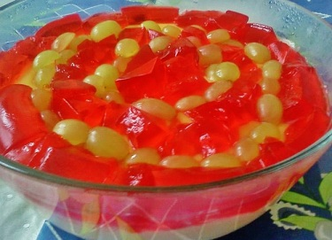 Trifle With Jelly on Top