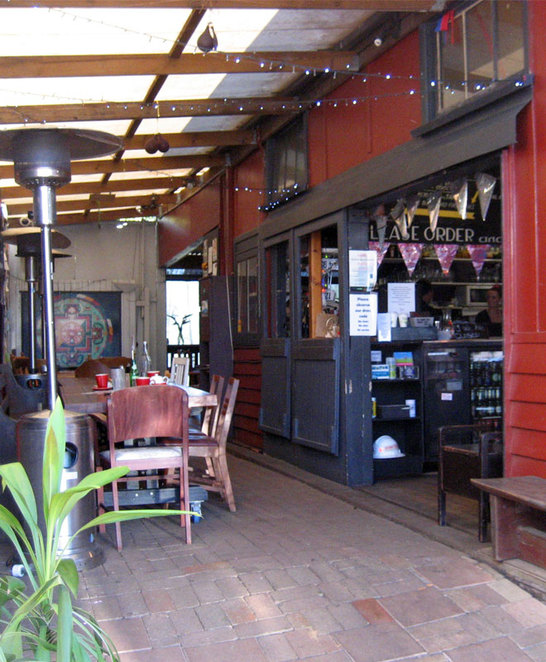 The UpFront Club in Maleny is where we usually go for coffee and cake when we are in the area