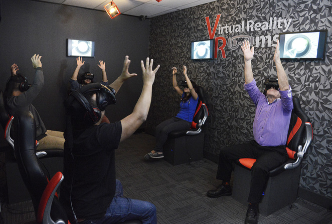 Virtual reality rooms sydney for Experiential design sydney