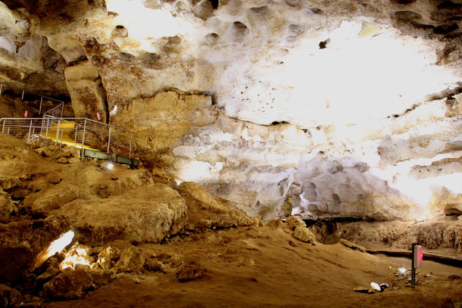 Wet Cave-one of a number at Naracoorte Caves National Park