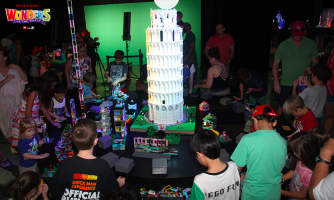Wonders of the World LEGO Exhibition, Brickman, LEGO, July School Holidays, Perth Convention and Exhibition Centre, Perth school holiday activities