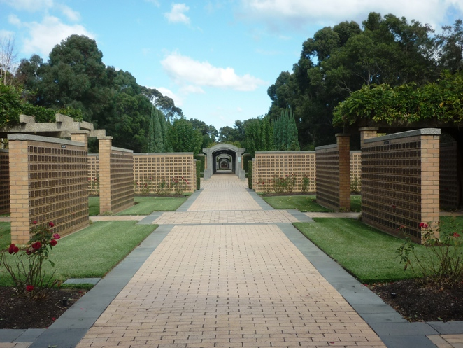 War Cemetery Section