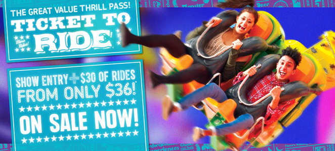 Royal,melbourne,show,2014,rides,discounts,discounted,ticket,tickets,cheap,free,entry