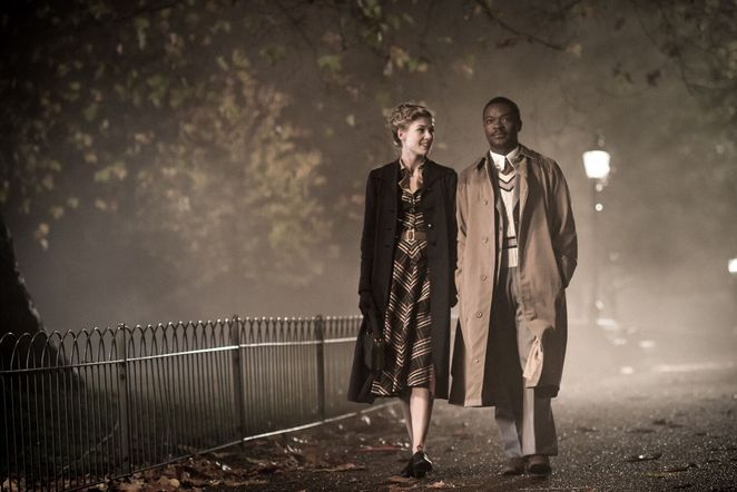 a united kingdom, movie review, film review, actors, performing arts, community event, fun things to do, true stories, botswana, king seretse khama, david oyelowo, ruth williams khama, rosamund pike, british film, south africa, director amma asante