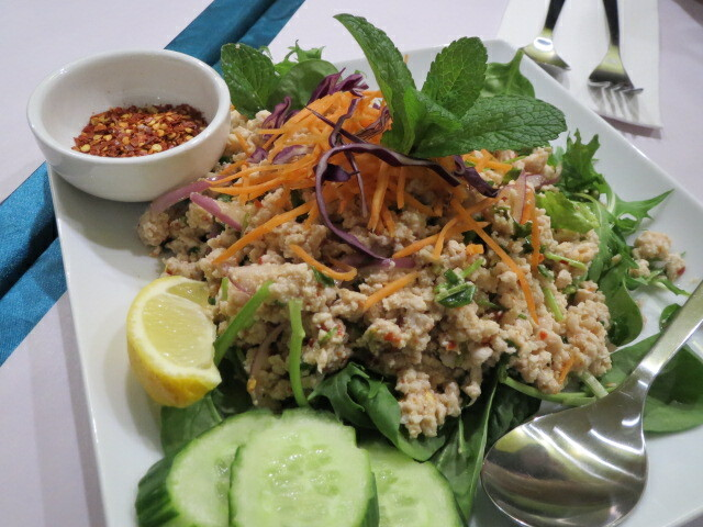 Angel Thai, Larb Chicken Salad, Adelaide