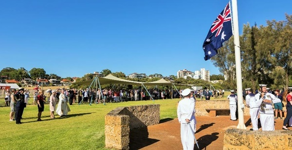 Aussie,Day,ceremony