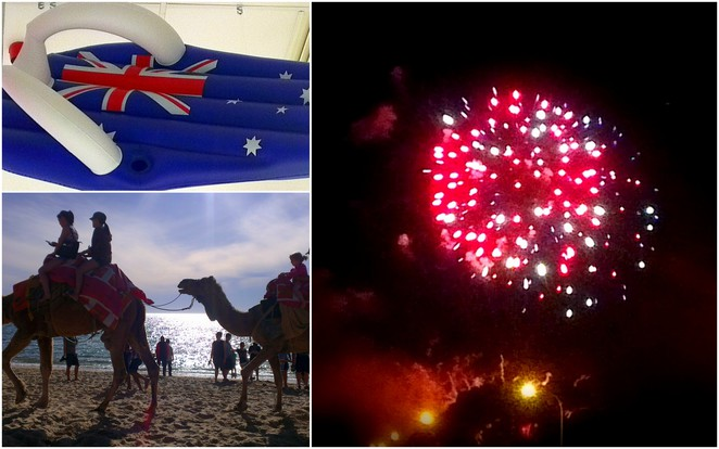 Australia Day 2014, Camel Ride, Australia Day Fireworks