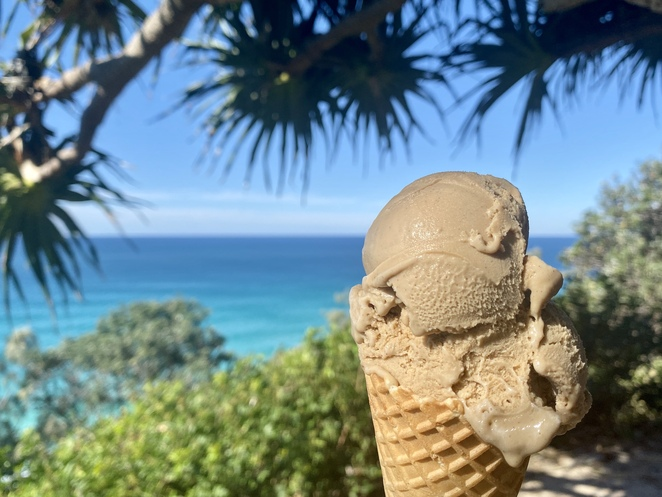 Bella Balena Gelateria is set in an idyllic spot that seems made for ice cream!