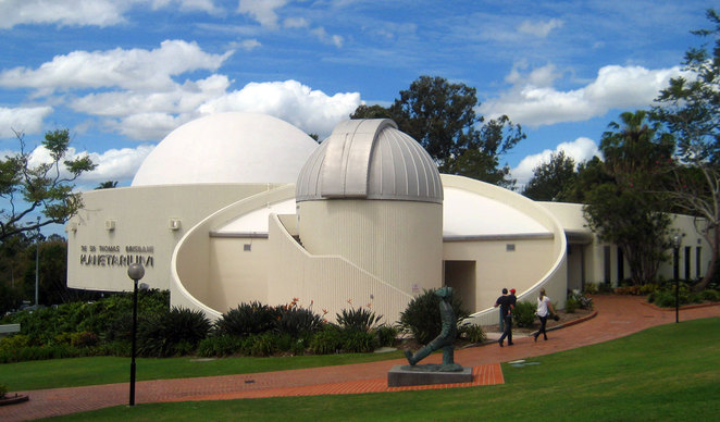 Sir Thomas Planetarium at Mt Coot-tha Botanic Gardens
