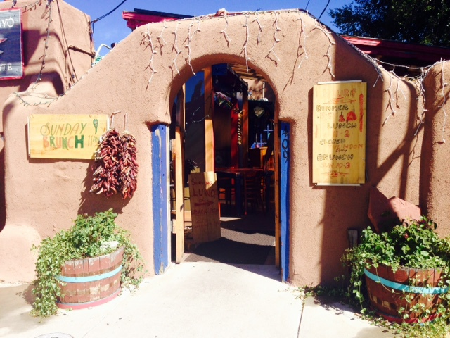 casa chimayo, diners drive ins and dives, food network, santa fe restaurants, mexican restaurants, downtown santa fe, new mexico, blue enchiladas, chile stew, margaritas