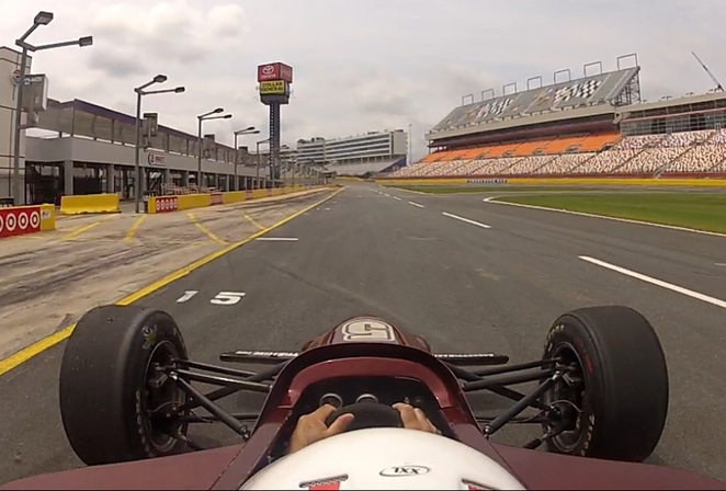 Mario andretti racing experience atlanta for Charlotte motor speedway driving experience