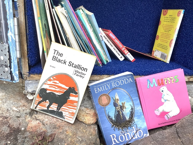 Children's Books at the Street Library