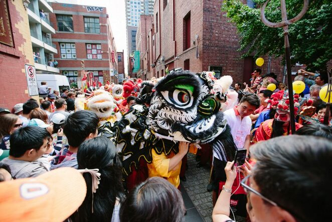 Chinese New Year celebrations, Chinatown melbourne