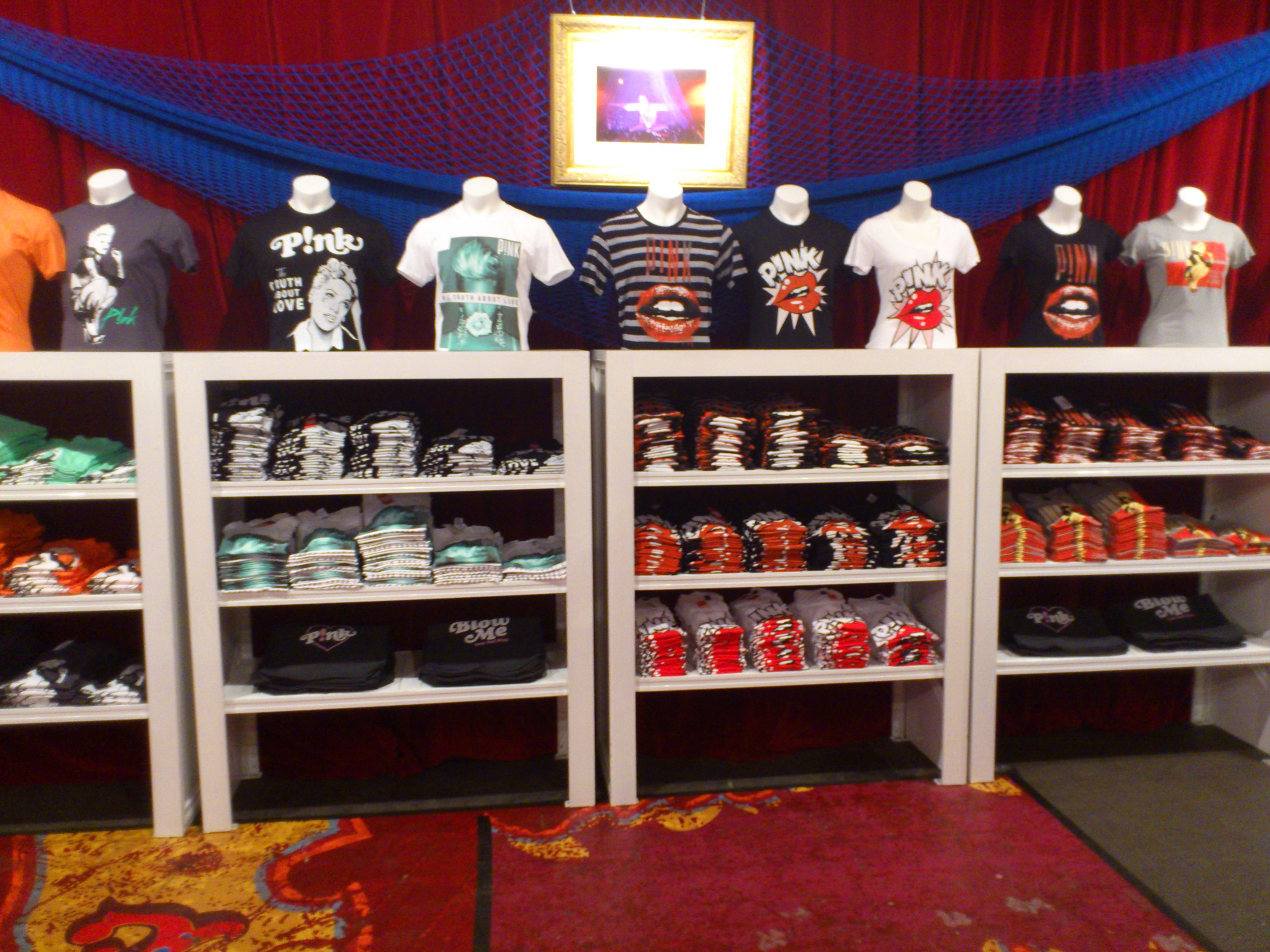 Music clothing stores