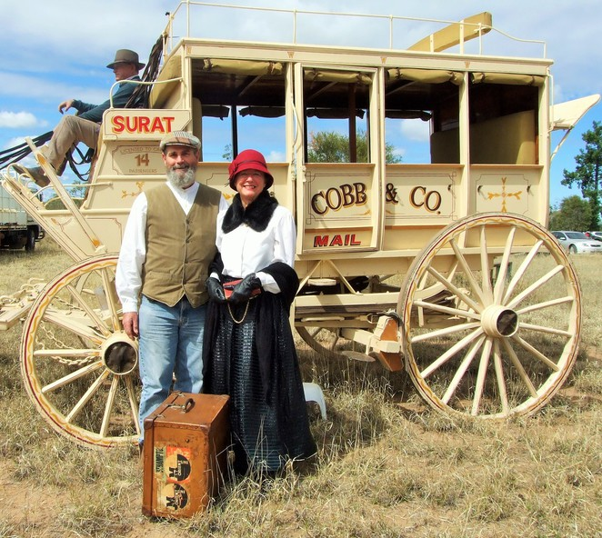 coach, adventure, heritage, bush style, cobb & co, period costume, history, celebrations, anniversary
