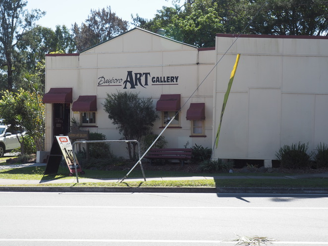 Dayboro Art Gallery, Dayboro, weekend notes