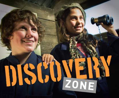 discovery zone, australian war memorial, canberra, ACT, things to do with kids, families, children,