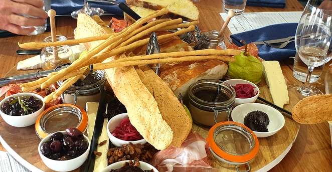 Food, grazing, share platters, winery, gourmet, friends, restaurant, Clare Valley