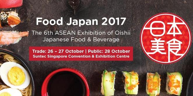 Food Japan 2017, authentic japanese food fair in singapore, japanese original snacks, japanese food & beverage, Suntec city, Oishii Japan