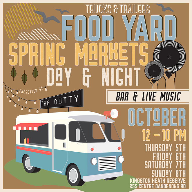 food trucks, food market, spring markets, festival, kingston, community