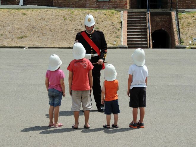 fort glanville, fort, adelaide, semaphore, coastal fort, reenactments, conservation park, cannons, artillery guns, fun for kids