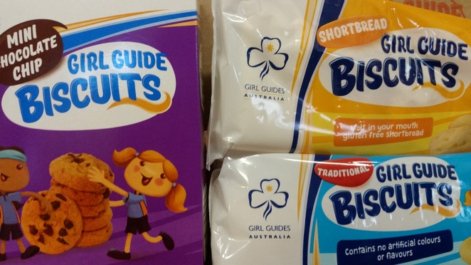 Girl Guides Australia biscuits