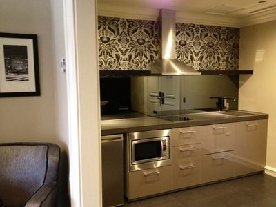 grand mercure melbourne flinders lane signature suite kitchen