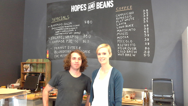 hopes and beans cafe