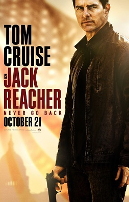 Jack Reacher Never Look Back Film Review, Tom Cruise,