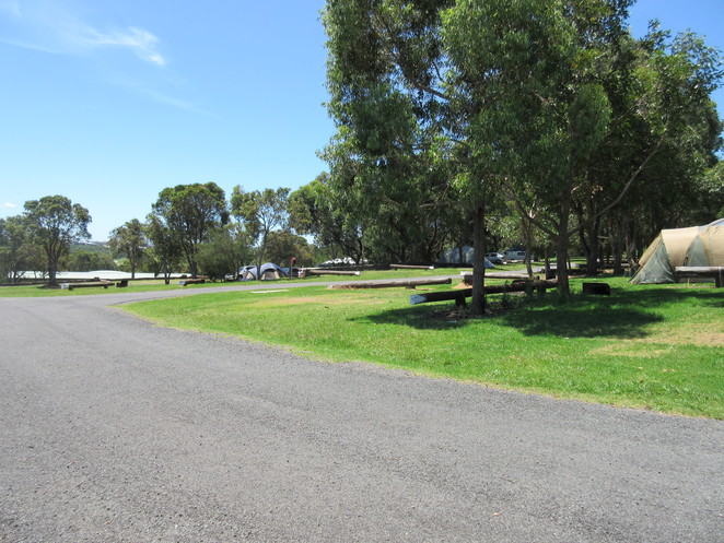 Killalea State Park, Camping, Campground