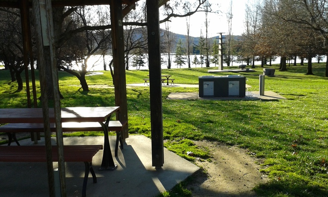 Lennox Gardens BBQ, Lake Burley Griffin, Canberra, Summer, Spring