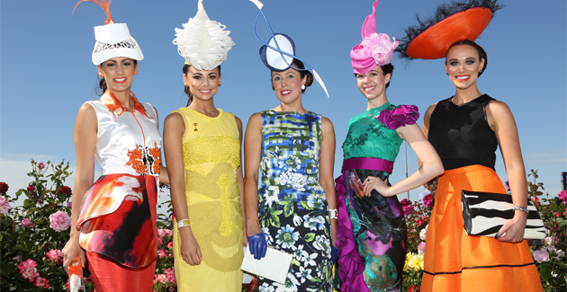 Melbourne Cup Carnival 2016 Myer Fashion on the Field