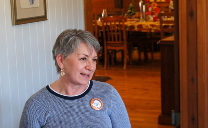 Rosy Chapman bought and refurbished the old church to convert it into a great place to stay near Stanthorpe