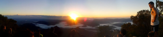 Sunrise on Mt Warning