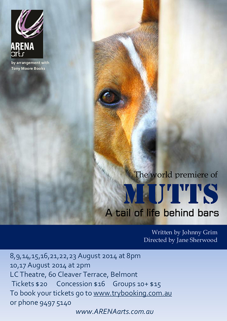 Mutts, Jonny Grim, Jane Sherwood, Latvian Centre