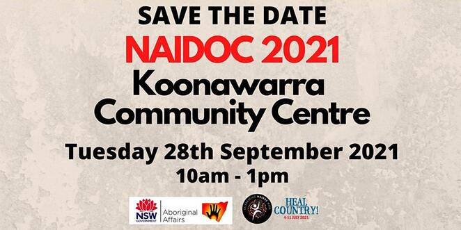 naidoc 23021 at koonawarra community centre, community event, fun things to do, careways community, cultural event, activities, entertainment, free family fun event, welcome to country, aboriginal event, smoking ceremony, reptile show, market stalls, kids activities, sausage sizzle, performances, local talent, local community, torres strait islander peoples
